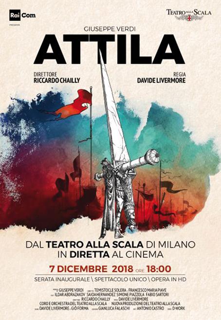 Attila - Prima del Teatro alla Scala di Milano 2018