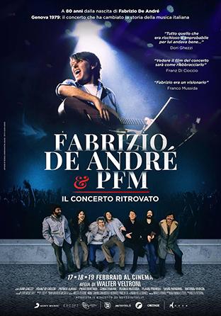 Fabrizio De André e PFM-Il concerto ritrovato